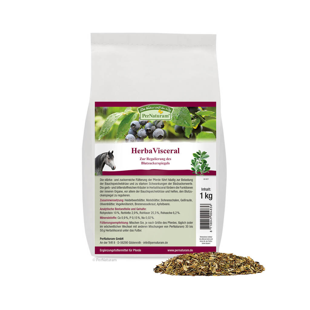 HerbaVisceral 1 kg - PerNaturam Shop