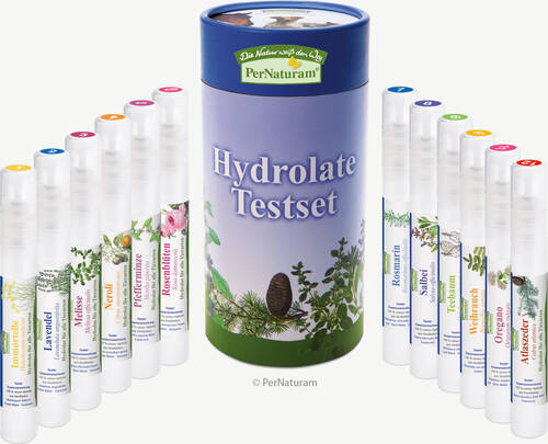 Hydrolate Testset (12 x10 ml) - PerNaturam Shop