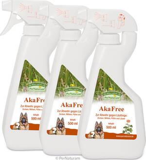 AkaFree 3 x 500 ml - PerNaturam Shop