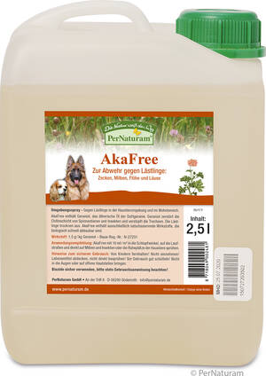 AkaFree 2,5 l - PerNaturam Shop