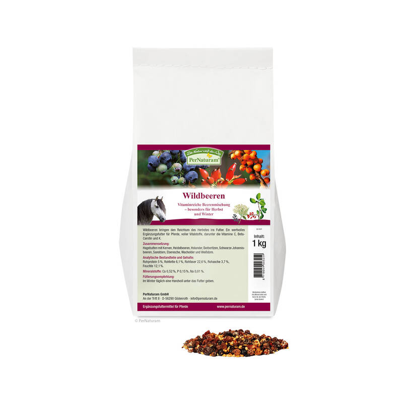 Wildbeeren 1 kg - PerNaturam Shop